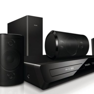 Philips 3D Blu-Ray 5.1 Home Theatre System