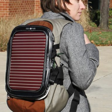 Piggyback Solar Powered Gadgetbag