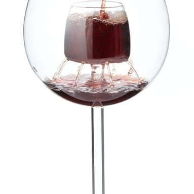 fountain aerating wine glasses
