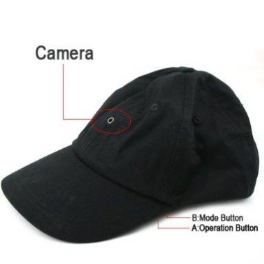 Baseball Cap Hat Camera DVR Mini Camcorder & Recorder