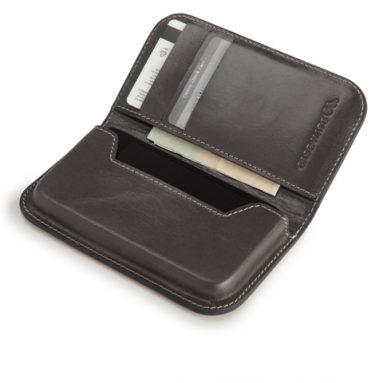iPhone 4 / 4S Signature Leather Folding Wallet