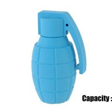 4G Silicon Grenade Design USB Flash Drive