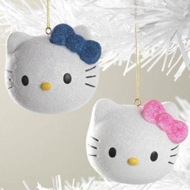 Hello Kitty Ornaments
