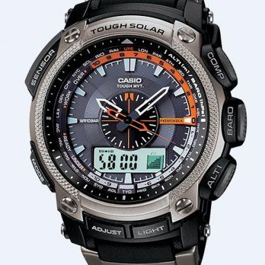Casio Men's Solar Power Blue Dial Watch