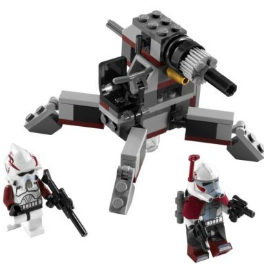 LEGO Star Wars Elite Clone Trooper and Commando Droid