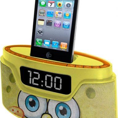 Spongebob iPod Clock Radio