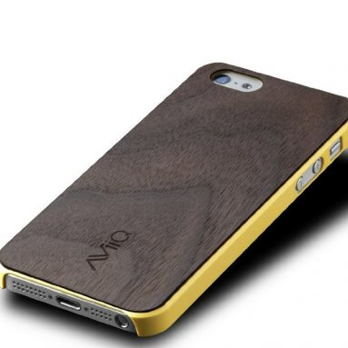 Thin Wood Trim Case for iPhone 5