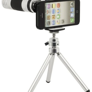 Telephoto Lens + 220x Zoom Magnify Micro Lens for iPhone 5
