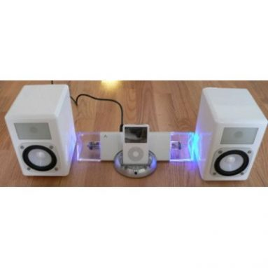 Tube Hybrid iPod Amplifier System with Speakers