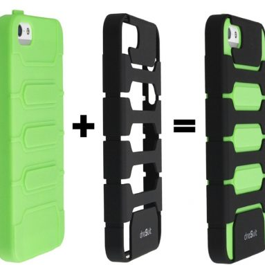 TPU Combo Case for iPhone 5 with belt clip