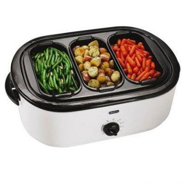 18-Quart Roaster Oven with Buffet Server
