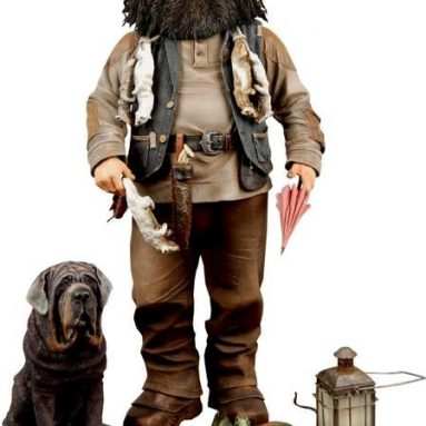 Harry Potter Talking Hagrid Action Figure