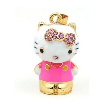 Hello Kitty 3D Crystal Style Design USB Flash Drive