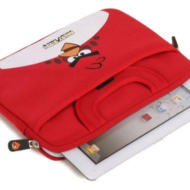 Angry Birds Themed Apple iPad 1/2/3/4 / 10″ Tablet Sleeve