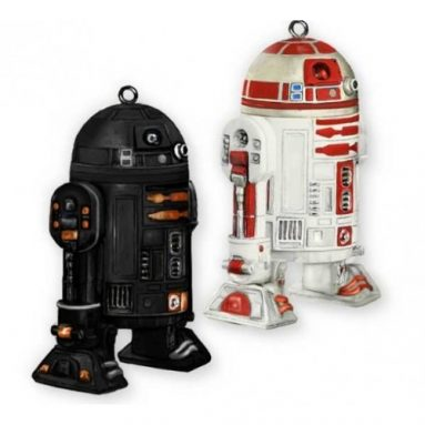 Star Wars R2-Q5 & R2-A3 Ornament