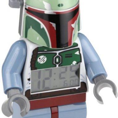 Star Wars Bobba Fett Minifigure Clock