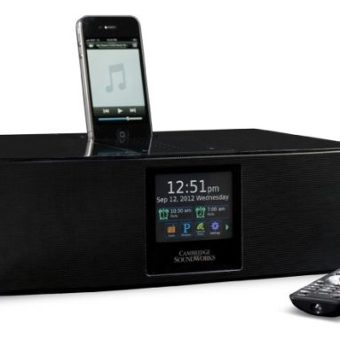 Cambridge SoundWorks Ambiance Touch World Radio with Bluetooth