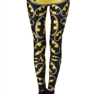 Batman Printed Elastic Leggings