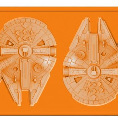 Star Wars Millennium Falcon Silicone Ice Tray