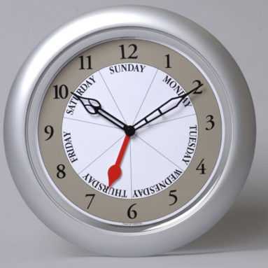 Day Of The Week Clock