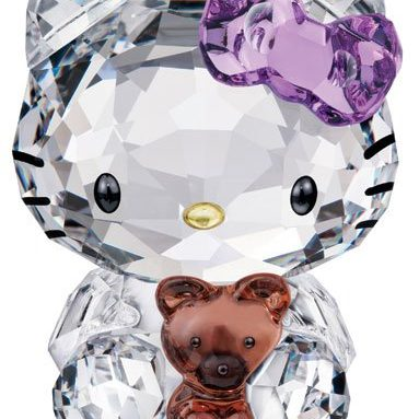 Swarovski Hello Kitty Bear Figurine