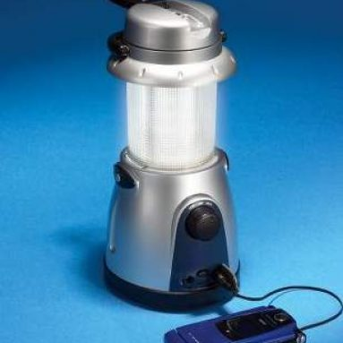 The 15-LED Telescoping Hand Crank Lantern