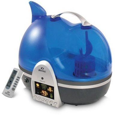 Ultrasonic Humidifier with Ion Generator