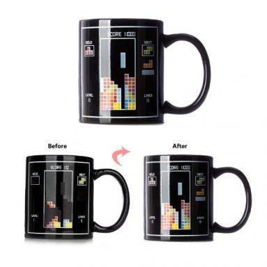 Color-changing Tetris Temperature Sensing Cup