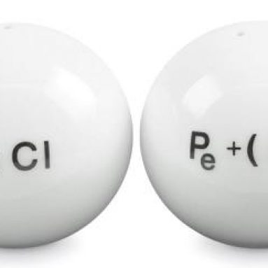 chemistry salt & pepper