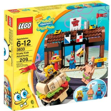 Cyber Monday: LEGO SpongeBob SquarePants Krusty Krab Adventures