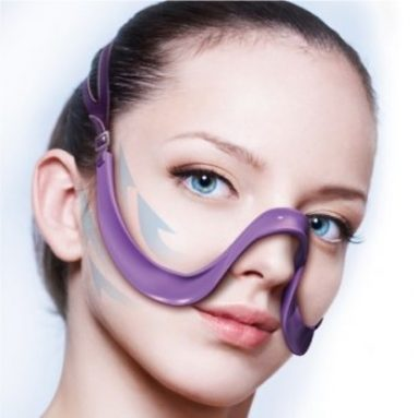 Face smile lines nasolabial folds beauty strap