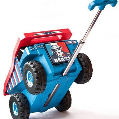 Truck Toy Travel Luggage Storage Case