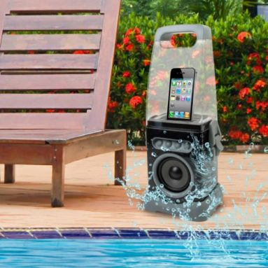 iCanister MP3/iPod Water-Resistant Speaker