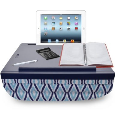 iCozy Portable Cushion Lap Desk With Storage