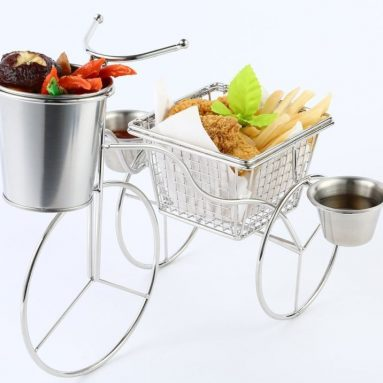 iGodee Mini Three-Wheeler with a Fry Basket and Pail