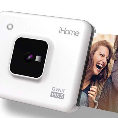 iHome Square 2-in-1 Instant Print Camera + Printer