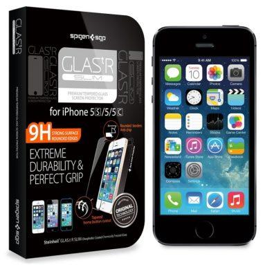 iPhone 5S / 5C / 5 Screen Protector Glass Slim