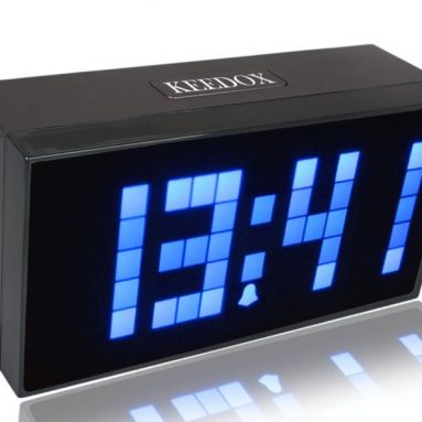 LED Light Snooze Wall Desk Alarm Calendar Clock