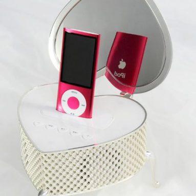 Kootec iHeart Jewelry Box Speaker for iPod