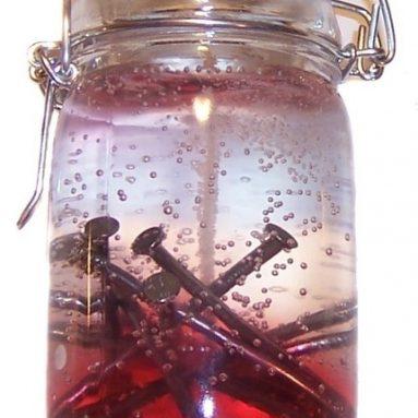 Nail Jar Candle
