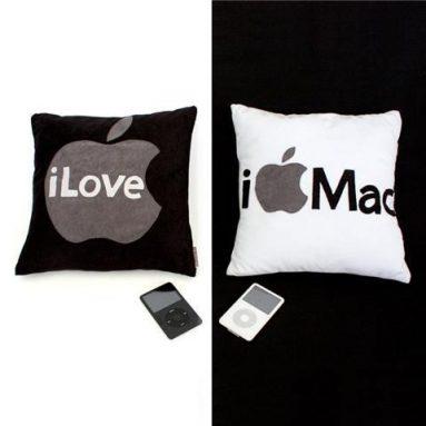 I Love Mac Pillow