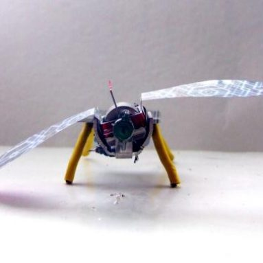 The solar powered flapping bugbot