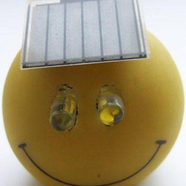 Smiler the solar powered flasher