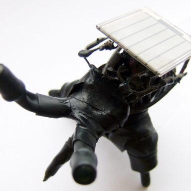 Nigel the solar powered goth bugbut