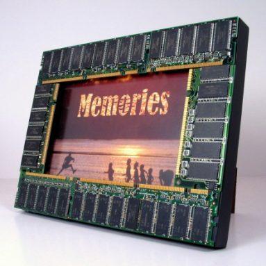 Computer Memories Photo Frame