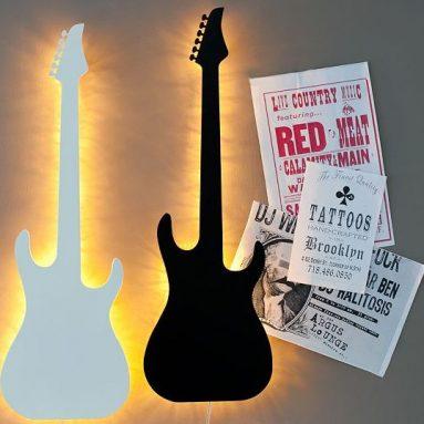 Guitar Wall Light