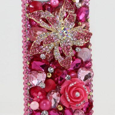 iphone 5 Luxury 3D Swarovski Case Cover