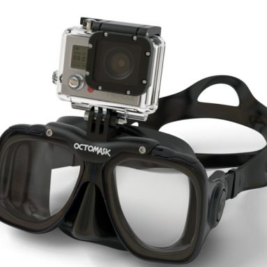 Diving / Scuba Mask with GoPro Hero 3 Mount
