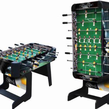 Sport Foosball Table with Folding Leg
