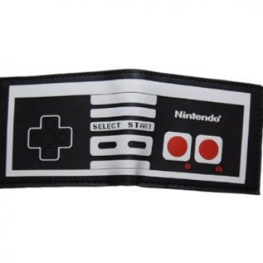 Nintendo Controller Bi Fold Wallet Leather